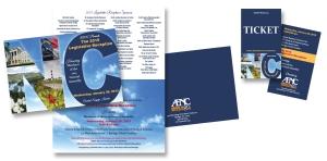 AENC invite and ticket
