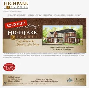 HighParkHomePage