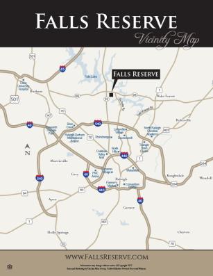 Falls Reserve Vicinity Map